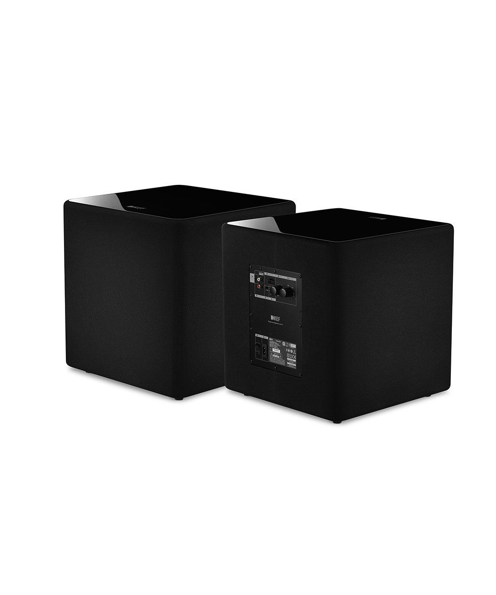 KEF KUBE 8b Compact High Performance Subwoofer Side