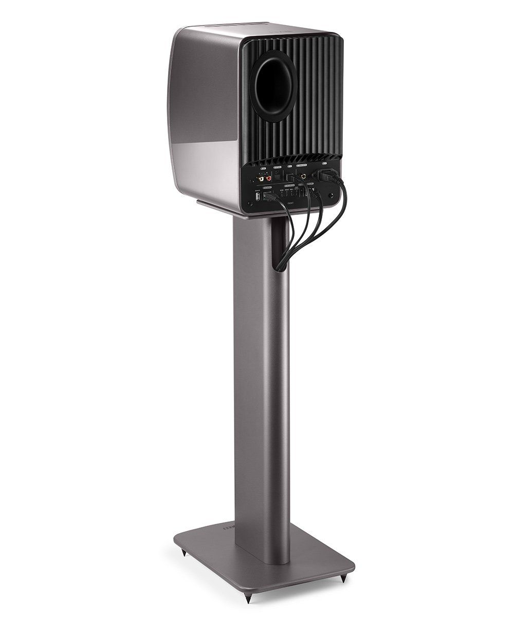 KEF Performance Speaker Stand Grey Back
