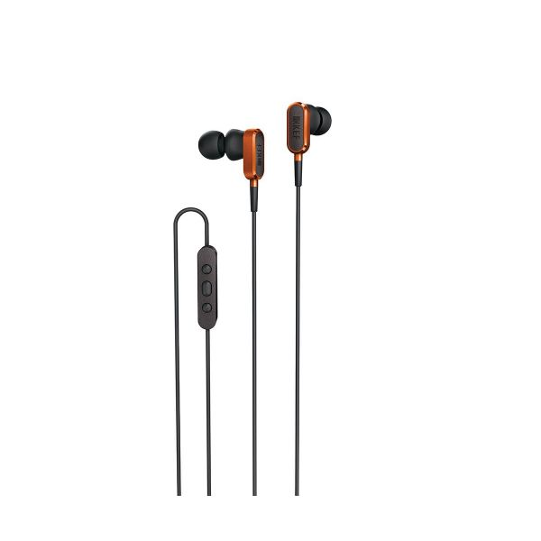 KEF M100 In-Ear Headphones in Sunset Orange