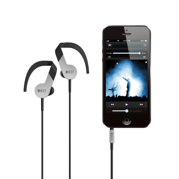 KEF M200 with Apple iPhone