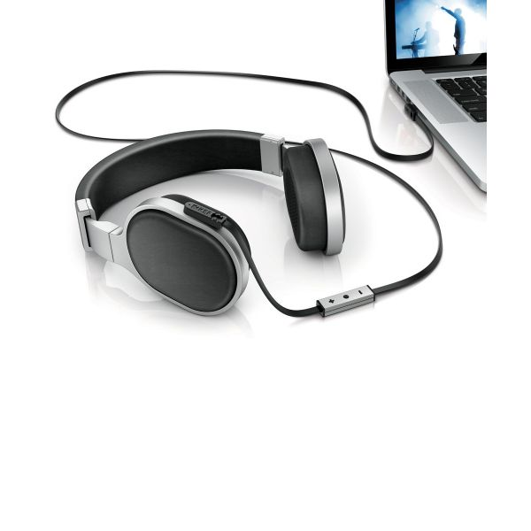 KEF M500 with Mac laptop