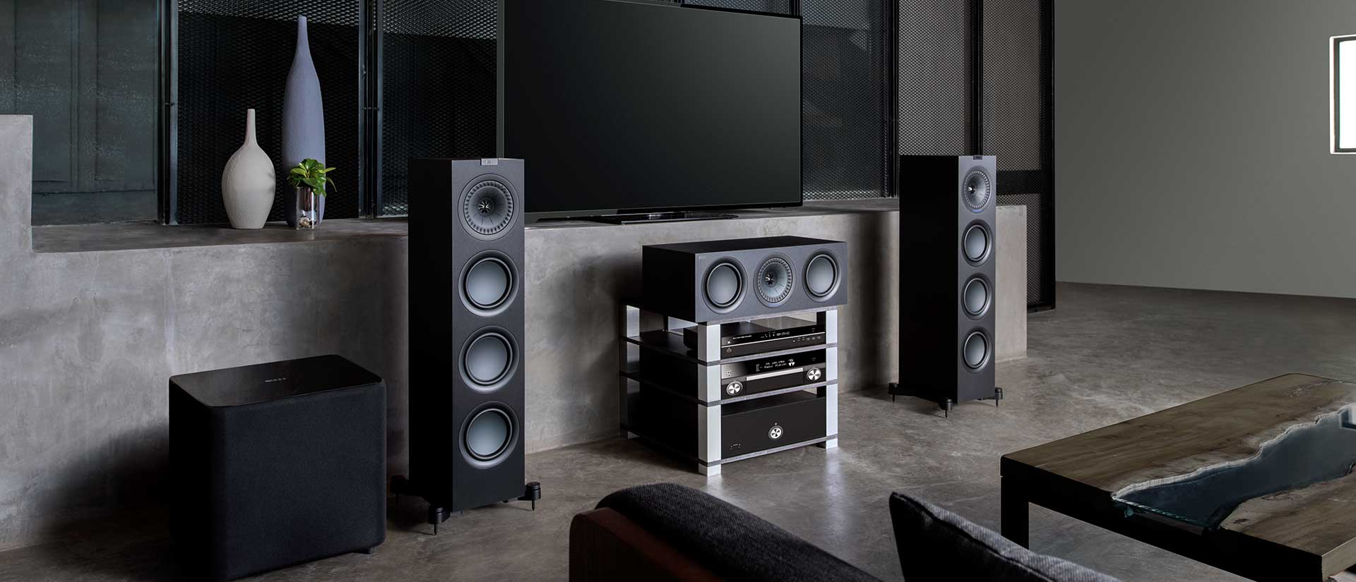 KEF Home Theater Speakers