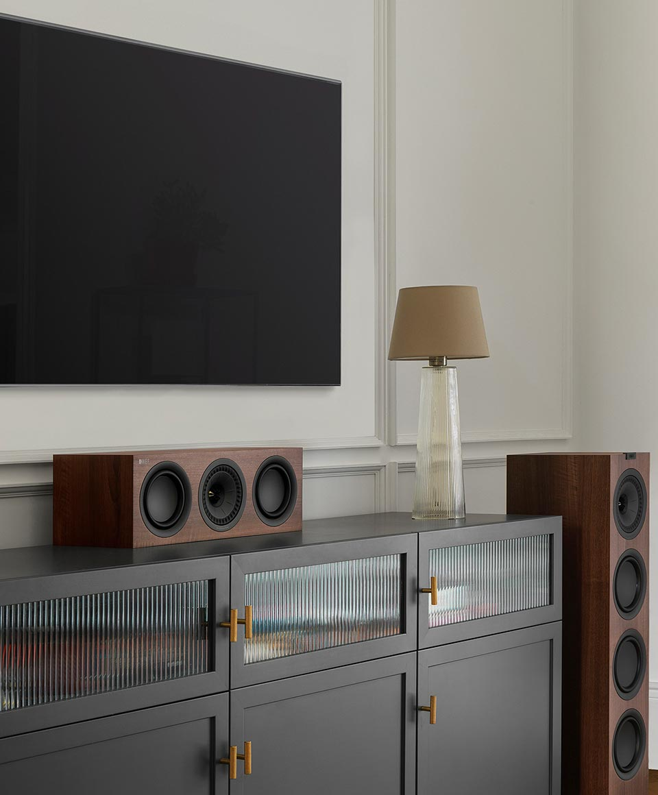 KEF Center Channel Speakers