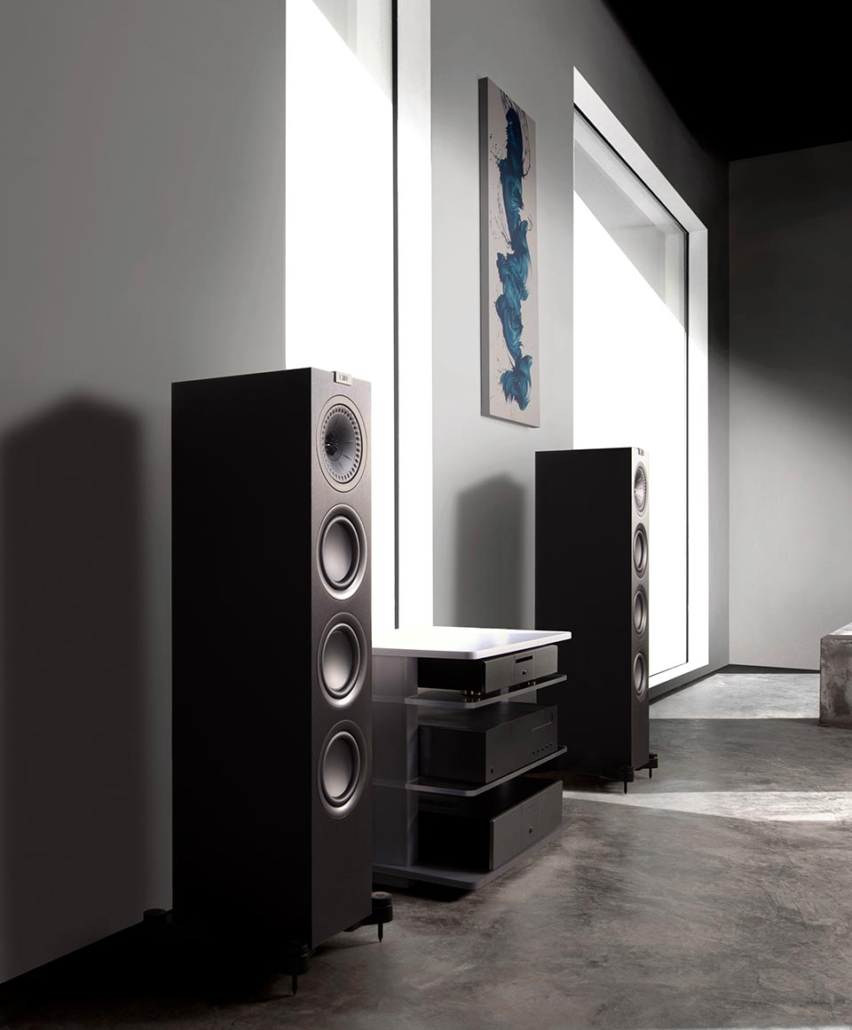 KEF Stereo Speakers