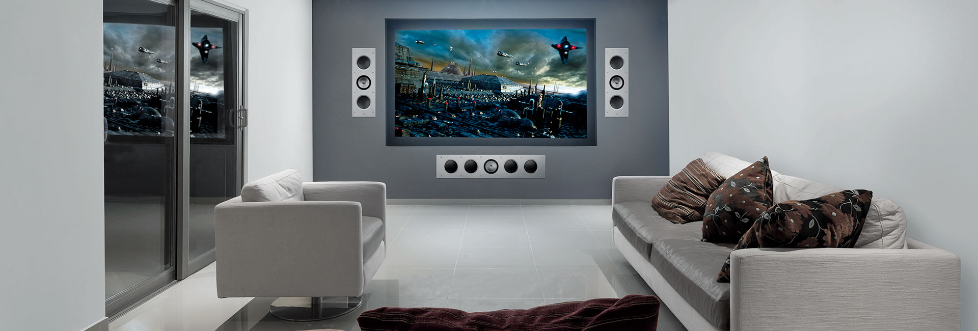 KEF Custom Installation Architectural Accessories