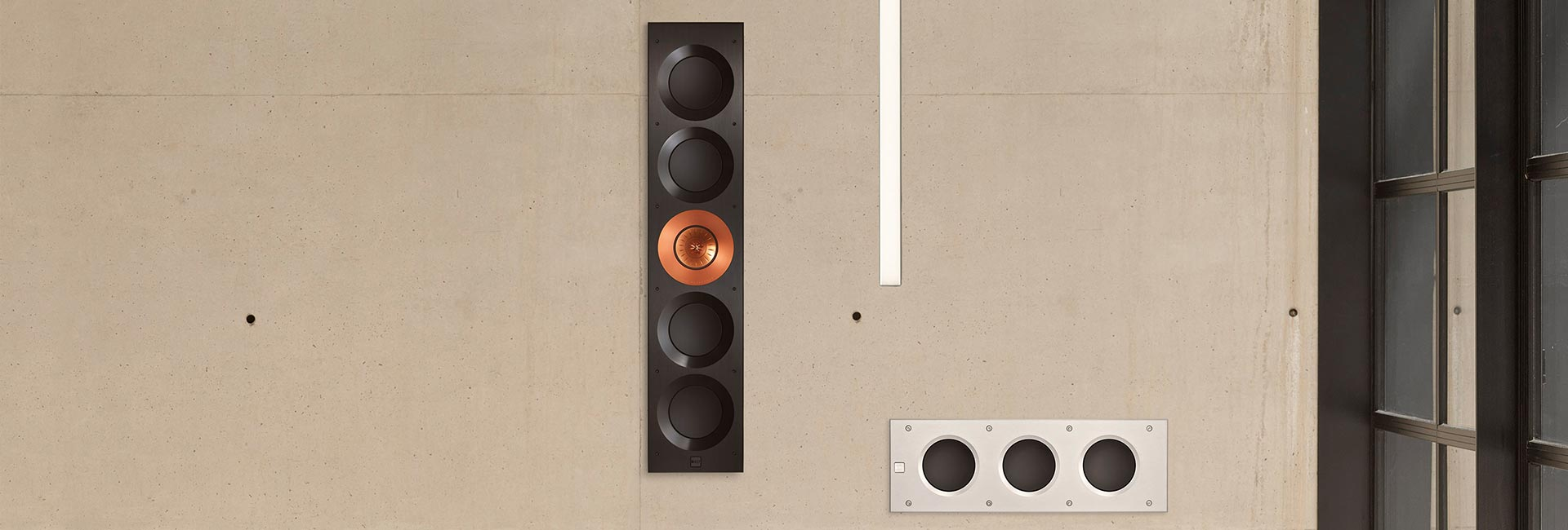 KEF THX Certified Custom Installation Architectural In-Wall Subwoofers