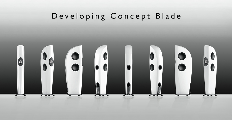 Developing Concept Blade - The World's First Single Apparent Source Loudspeaker
