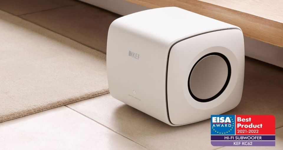 The 2021-2022 EISA Best Product Award for Hi-Fi Subwoofers: KC62