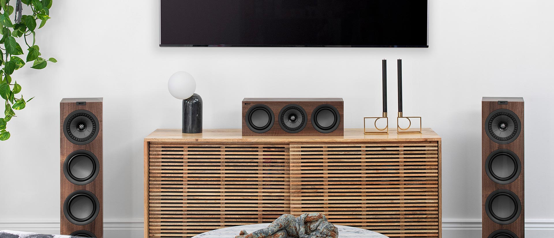 KEF Q Series packs significant technical improvements over the previous generation.