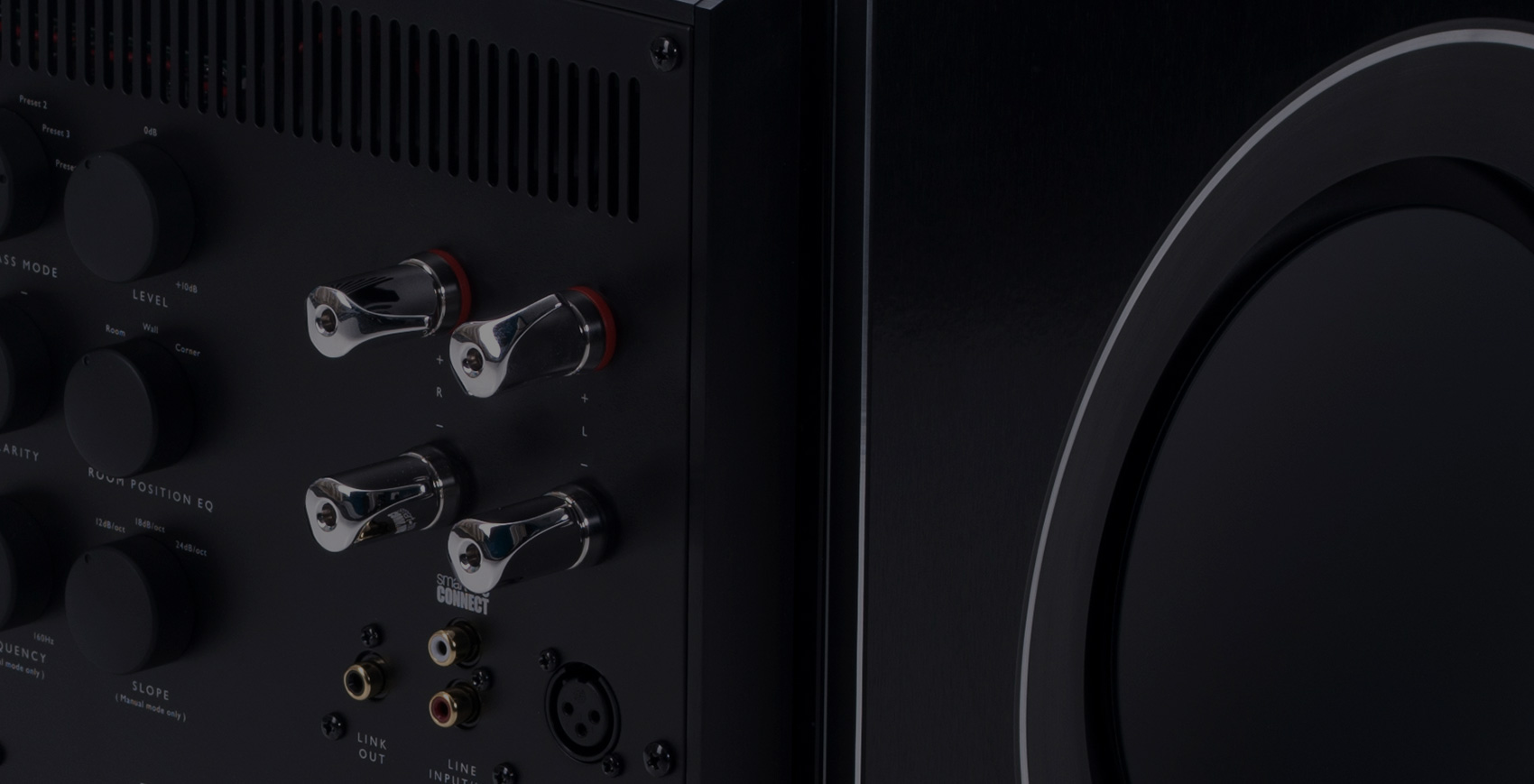 KEF REFERENCE Series REFERENCE Center speakers.