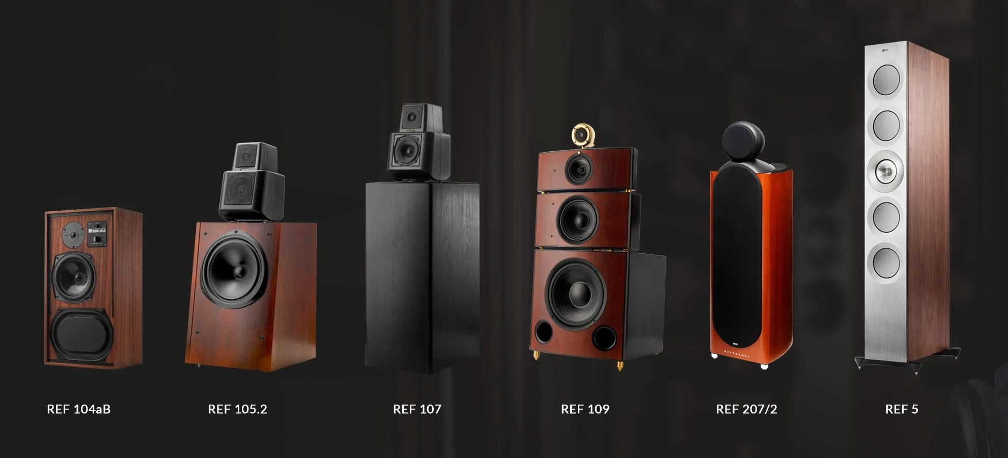 KEF REFERENCE Series REFERENCE 1 standmount speakers.