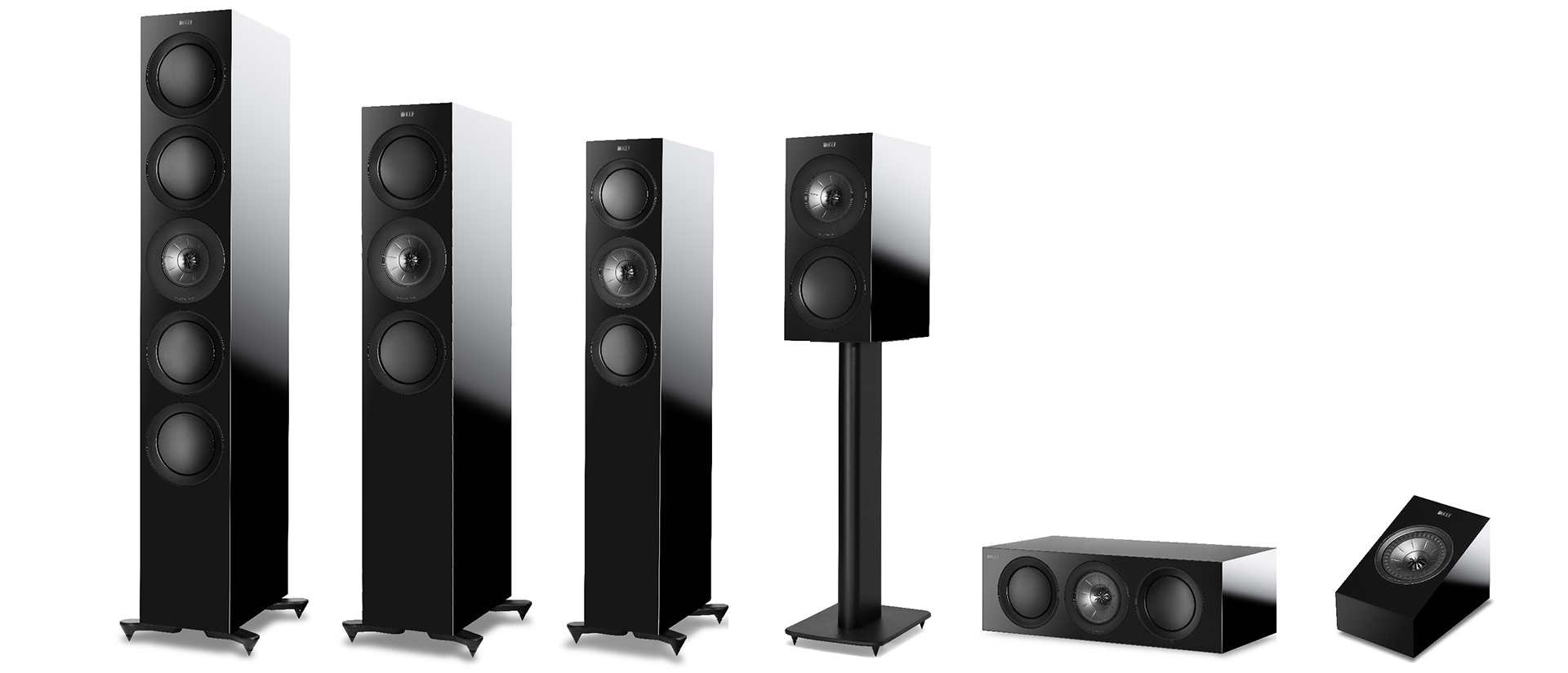 KEF R series family of speakers