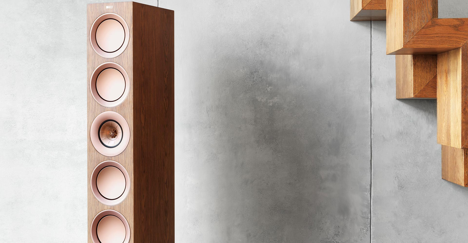KEF R starts with Reference