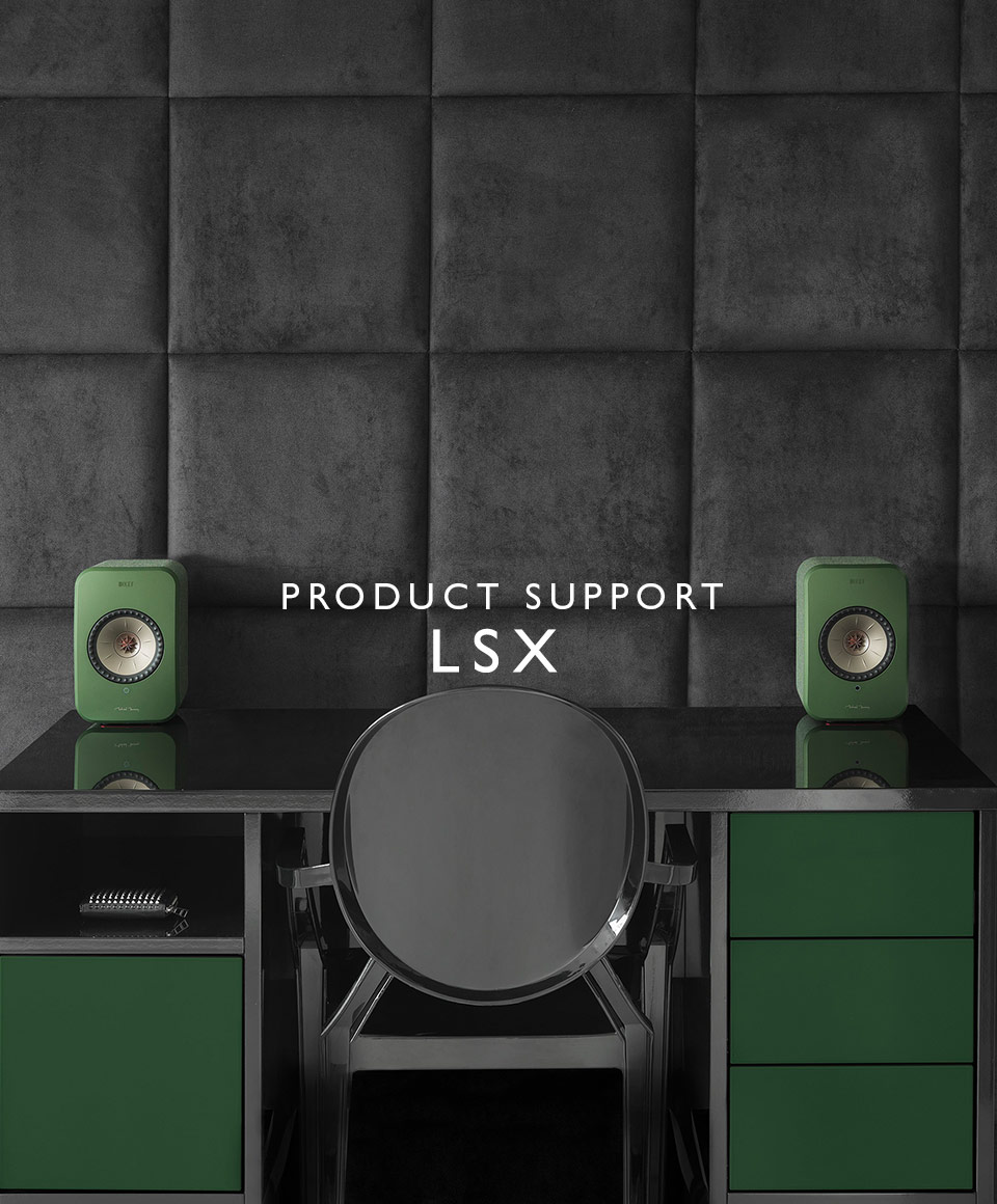 KEF LSX Product Support and Downloads