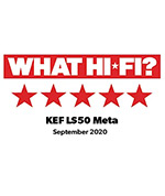 LS50 META WHAT HIFI FIVE STAR REVIEW