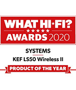 What Hi*Fi Five star review KEF LS50 WIRELESS II